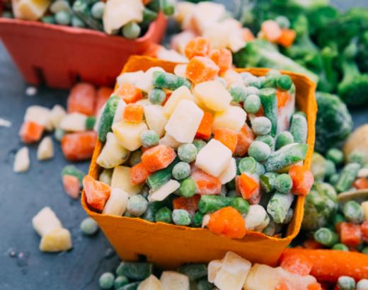 Cozinha prática: vegetais congelados